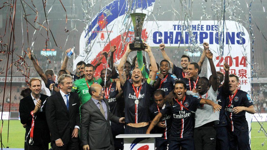 """Résultat de recherche d'images pour """"trophée des champions 2014"""""""