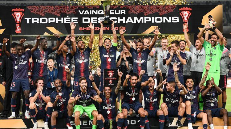 """Résultat de recherche d'images pour """"trophée des champions 2018"""""""