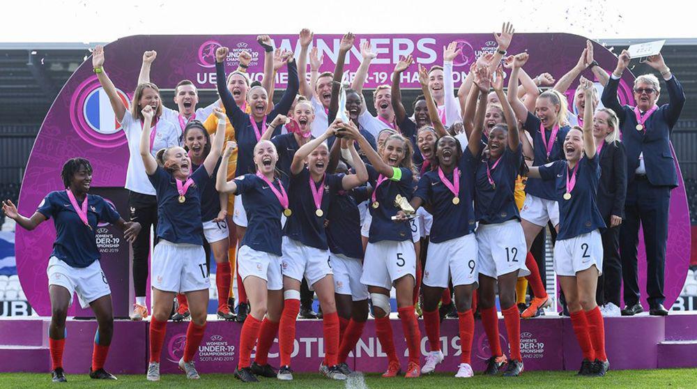 """Résultat de recherche d'images pour """"uefa womens u19 france 2019"""""""