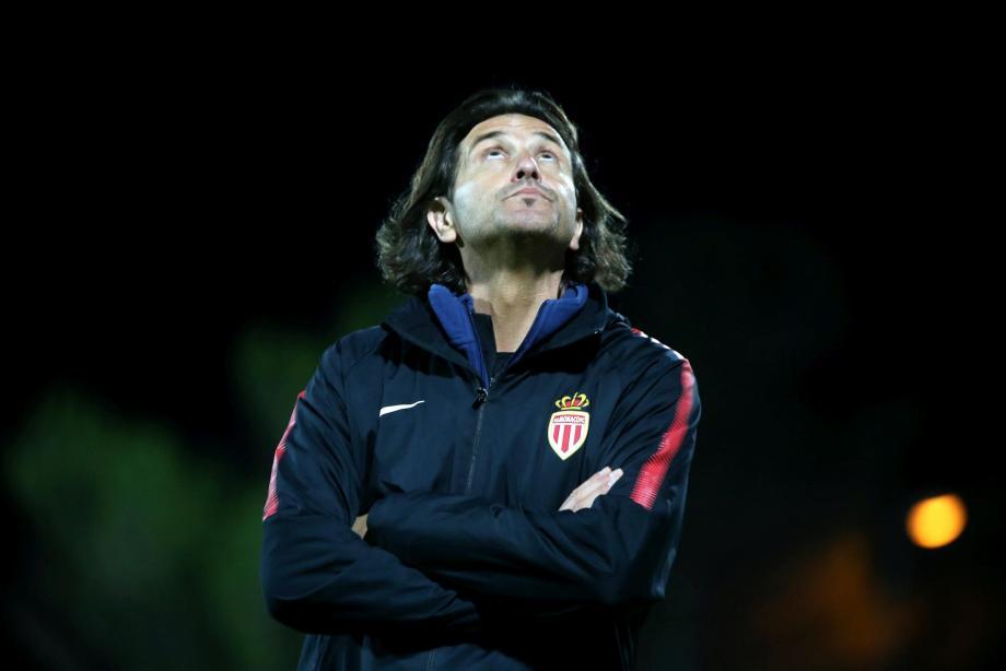L'entraîneur de la réserve de l'ASM David Bechkoura.