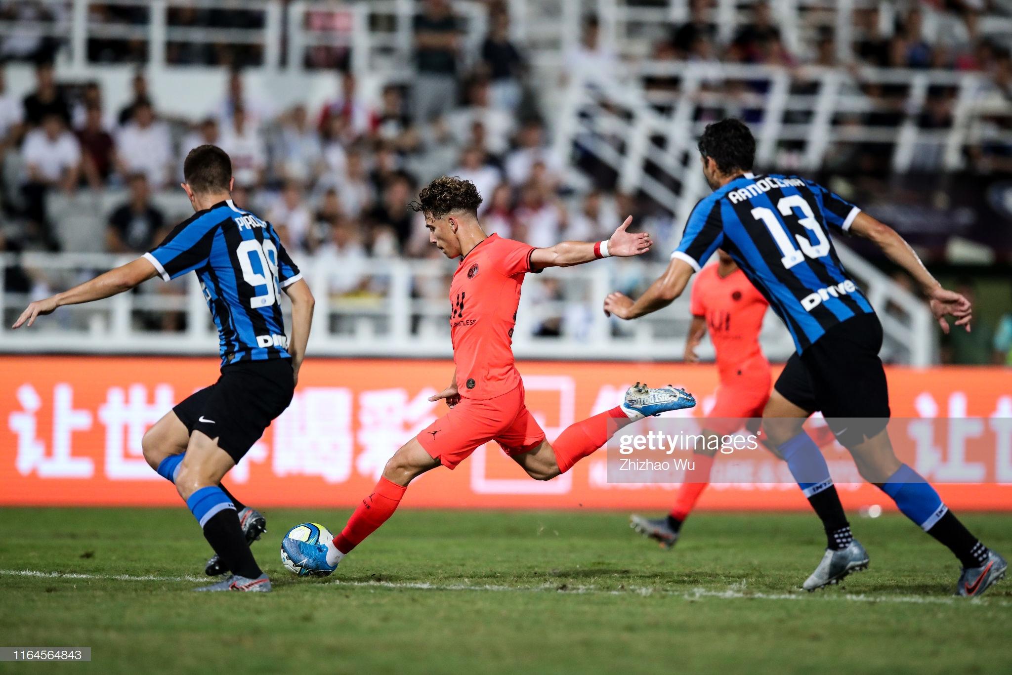 Paris Saint-Germain v FC Internazionale - International Super Cup 2019 : Photo d'actualité